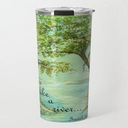 Peace Like a River Travel Mug
