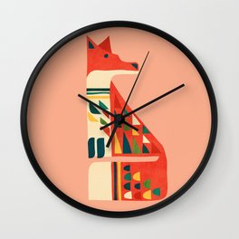 Century Fox Wall Clock