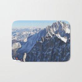 Mont Blanc, Chamonix. Bath Mat