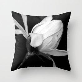 Magnolia Bud Throw Pillow