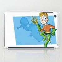 aquaman iPad Cases featuring Aquaman! by neicosta