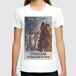 Vintage poster - World War II T-shirt