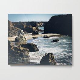 Central Coast Rocks Metal Print