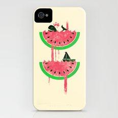Watermelon falls Final Slim Case iPhone (4, 4s)