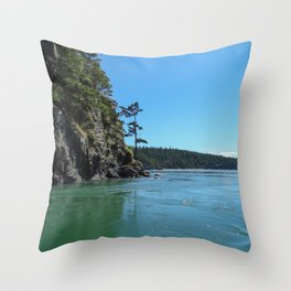 Canoe Pass Throw Pillow