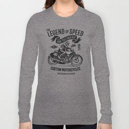 the legend of speed Long Sleeve T-shirt