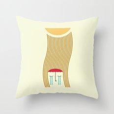 sun-rain Throw Pillow