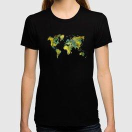World Map 2038 T-shirt
