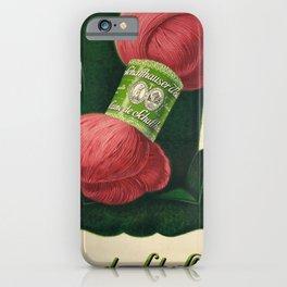 deco laine de schaffhouse laine iPhone Case