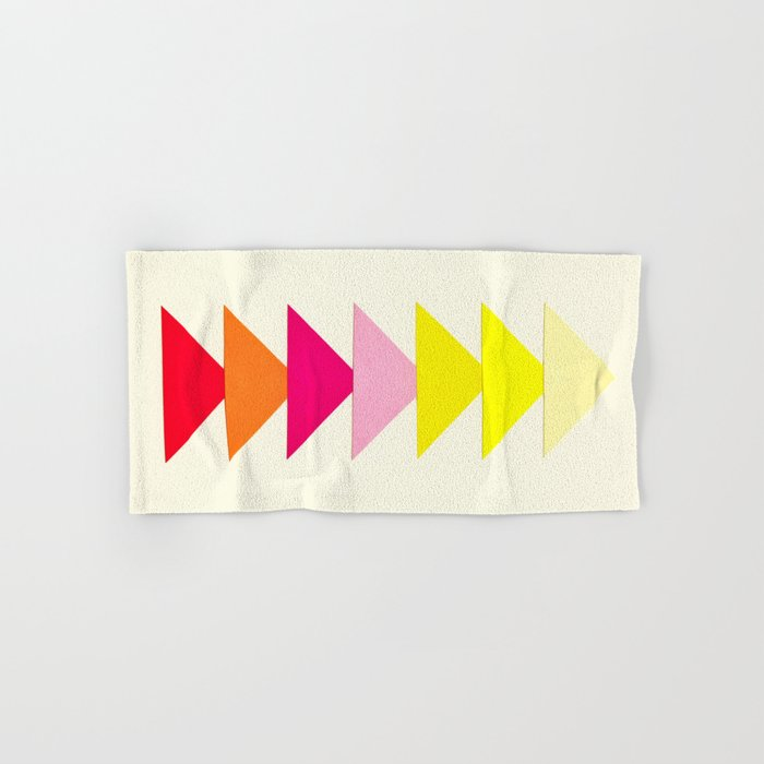 Arrows II Hand & Bath Towel