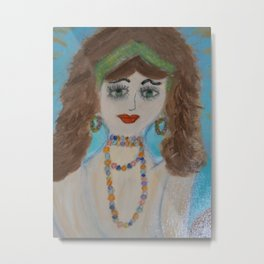 "Mermaids, ""Mariella"" Metal Print"