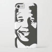 mandela iPhone & iPod Cases featuring Mandela by b & c