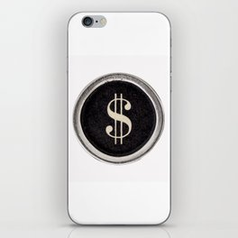 Vintage Dollar Sign iPhone Skin
