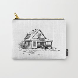 Winter Cottage Ink Carry-All Pouch