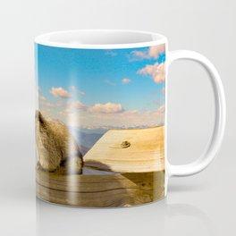 Hoary marmot in Vancouver Coffee Mug