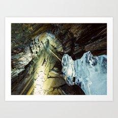 Miner's Form Art Print