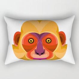 Golden-headed Langur Flat Icon Rectangular Pillow