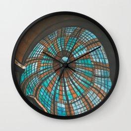The black eagle Wall Clock