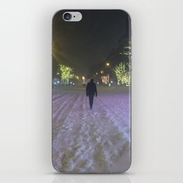 Commute Blizzard of 2016 iPhone Skin