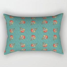 Puki Owl Pattern Rectangular Pillow