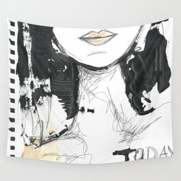 2014 Sketch Book Series #001 Wall Tapestry