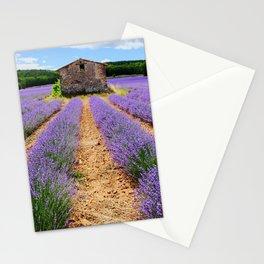 Lavender landscape Stationery Cards