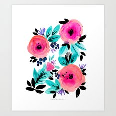 Savannah Flower Art Print
