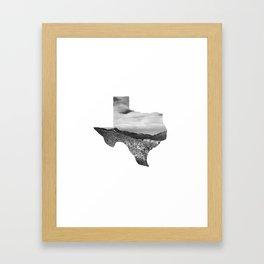 Texas Landscape Framed Art Print