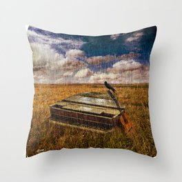 A Discarded Sound Throw Pillow