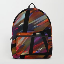 Colorful Chaos - Blacked Backpack