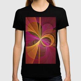 Luminous Colors, Abstract Fractal Art T-shirt