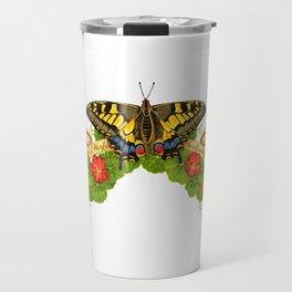 Old World Swallowtail Butterfly Travel Mug