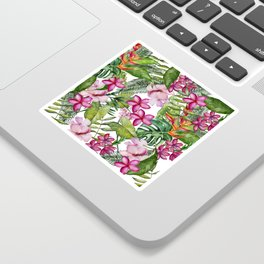Tropical Garden 3 Sticker