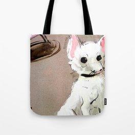 Street Chihuahua (TOPOS) Tote Bag