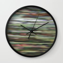 into the jungle Wall Clock