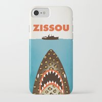 steve zissou iPhone & iPod Cases featuring Zissou by Wharton