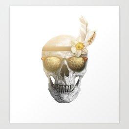 "Mortem in Gloria ""Ati"" Art Print"