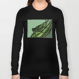 Green Grows the Grasshopper Long Sleeve T-shirt
