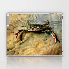 Blue Crab Laptop & iPad Skin