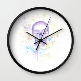 Children of Dying Stars 2 Wall Clock