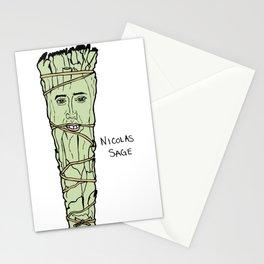 Nicolas Cage Nicolas Sage smudge Stationery Cards