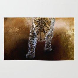 Russian Amur Leopard Rug