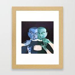 Spaghetti Break Framed Art Print