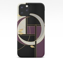 Leaves falling on Rodeo Drive iPhone Case