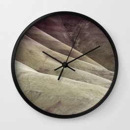 Hills as Canvas, No. 1 Wall Clock