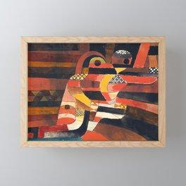 Lovers by Paul Klee, 1920 - Abstract Art Framed Mini Art Print