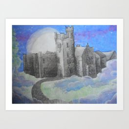 Dark Castle Art Print