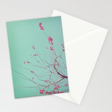 Red Stars Stationery Cards