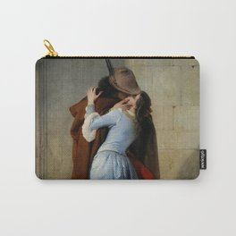 The Kiss (Il Bacio) - Francesco Hayez 1859 Carry-All Pouch