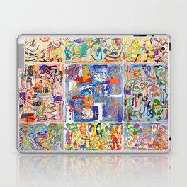Shamanic Painting 1-9 Laptop & iPad Skin